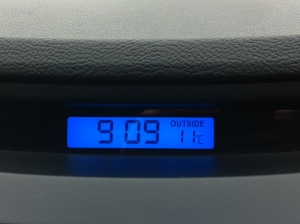 130612 Melbourne Temperature