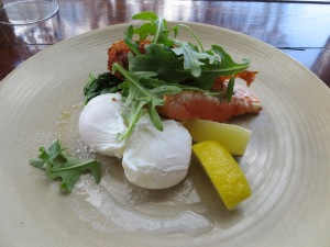 The Jetty Housesmoked Trout Lemon Creme Fraiche Hash Brown