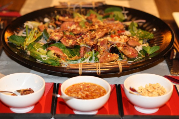 BBQ Lamb Salad