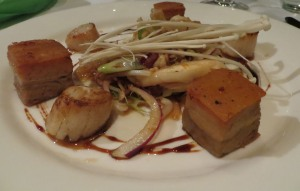 Pork Belly Scallops